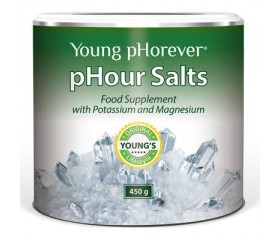 Young pHorever - pHour Salts, 450 g  - 4 alkalické soli
