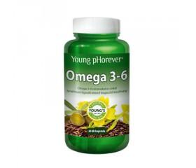 Young pHorever - Omega 3-6, 60 kapsúl