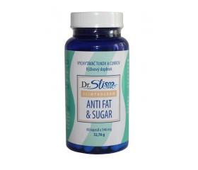 Antifat and Sugar – Vychytávač tukov acukrov 60 kapsúl