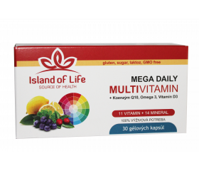 MEGA DAILY MULTIVITAMIN 30 kapsúl